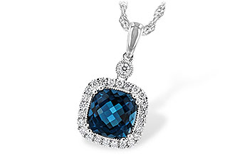 D216-82825: NECK 1.63 LONDON BLUE TOPAZ 1.80 TGW