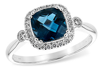 G216-82843: LDS RG 1.62 LONDON BLUE TOPAZ 1.78 TGW