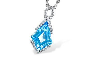 G300-47370: NECK 2.40 BLUE TOPAZ 2.53 TGW